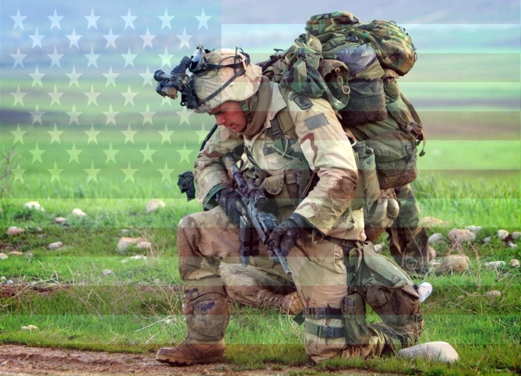 American Soldier Flag Veteran