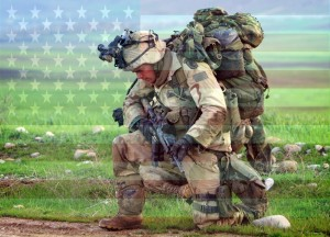 American Soldier Flag