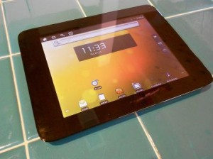 Velocity Cruz T301 Tablet Android 2.2