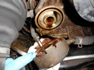 fix oil leak Nissan Murano