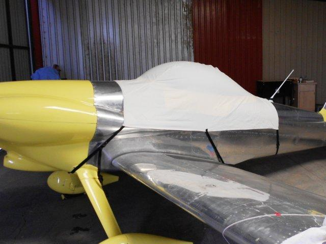 Vans RV-3 Canopy Cover Prototype