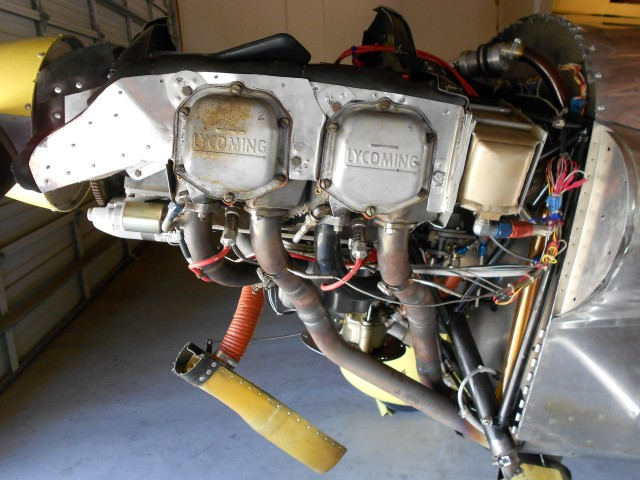 Vans RV-3 Lycoming O-320 Motor Engine magneto