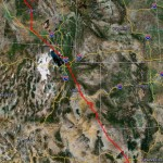 GPS Track New Mexico to Johnson Creek Idaho Trip