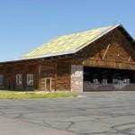 Bryce Canyon Utah Log Hangar AIrcraft