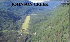 Johnson Creek Idaho Airport Camping Tent Runway