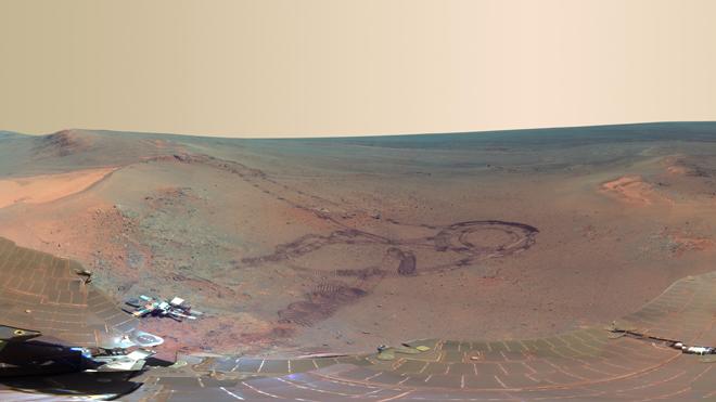 NASA Mars Opportunity Rover Image