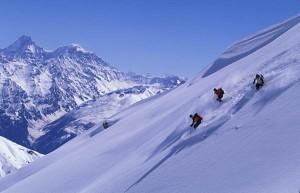 Ski Skiing Mountain
