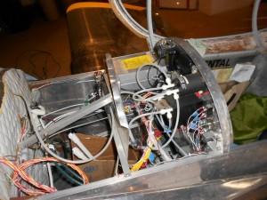 Vans RV-3 fuselage skin instrument panel