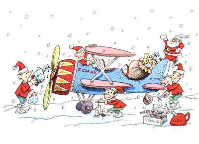 Aviators Night Before Christmas