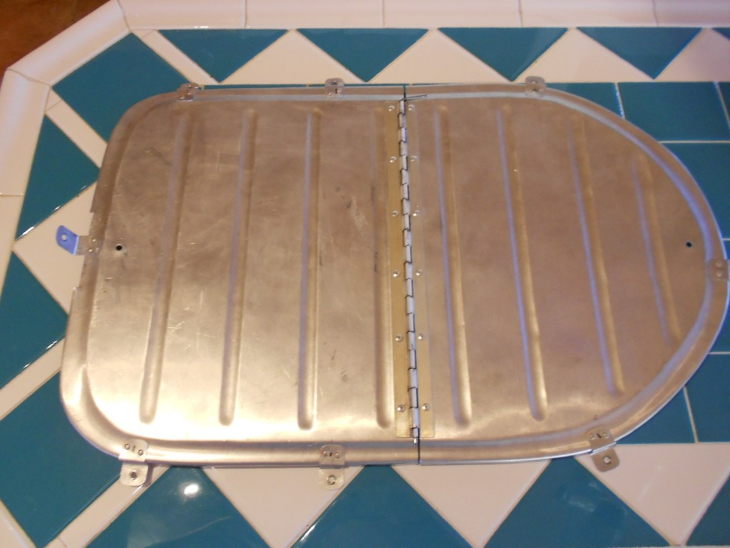 Vans RV-3 aircraft airplane baggage compartment ski