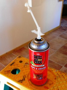 energy savings insulation green money heat foam ceiling great stuff expanding