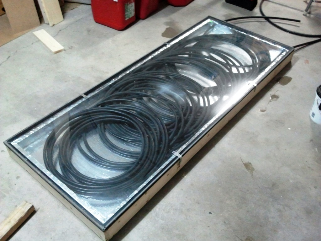 Solar Hot Tub Heater