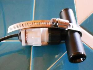solar hot water collector tub pex tubing sun temperature sensor