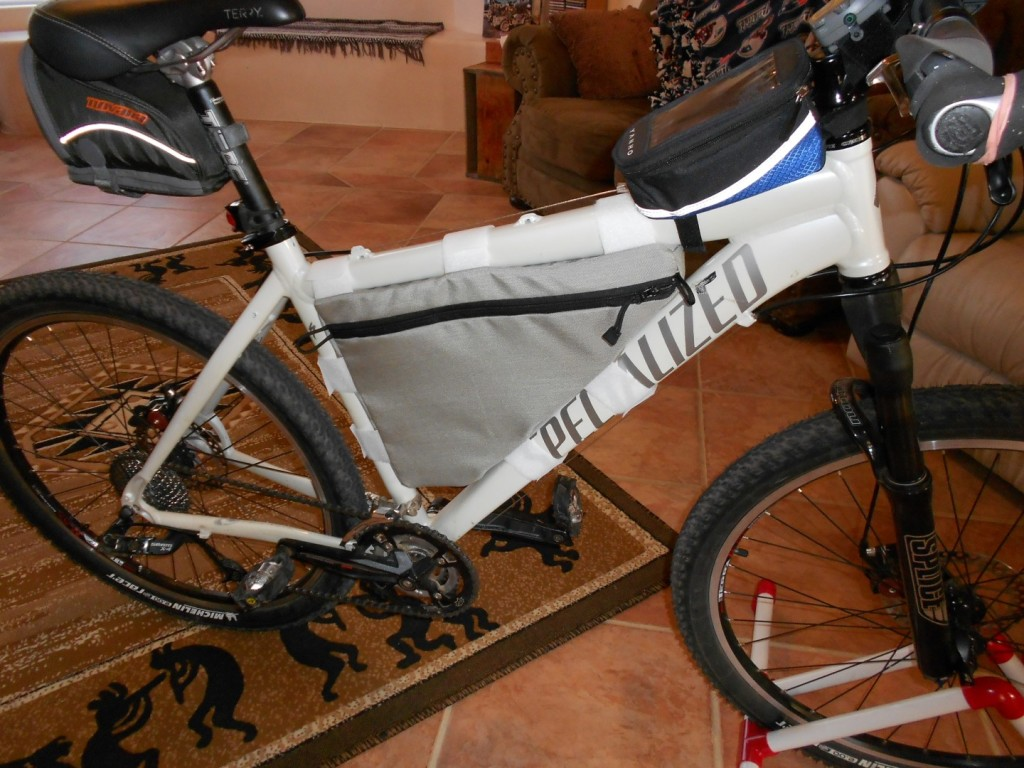 Bike Frame Bag Mountain MTB Cycling