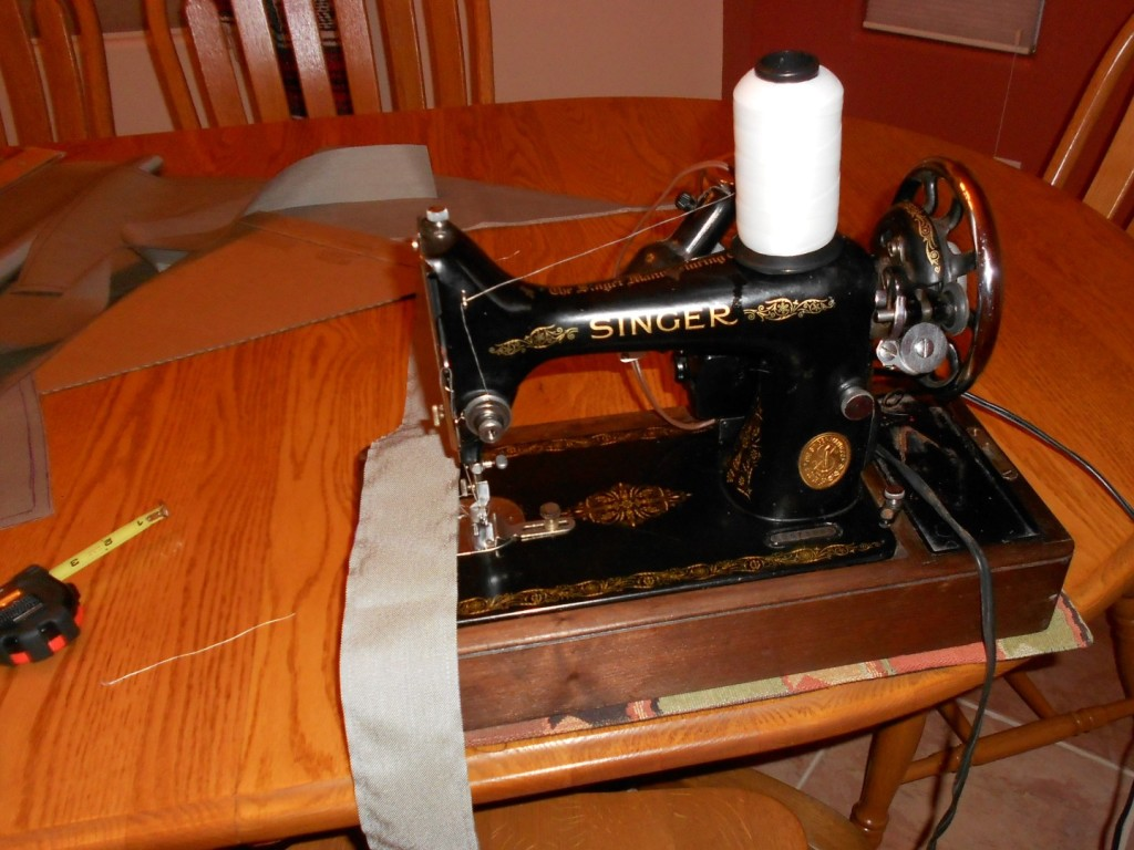 Bike Frame Bag Singer Sewing Machine