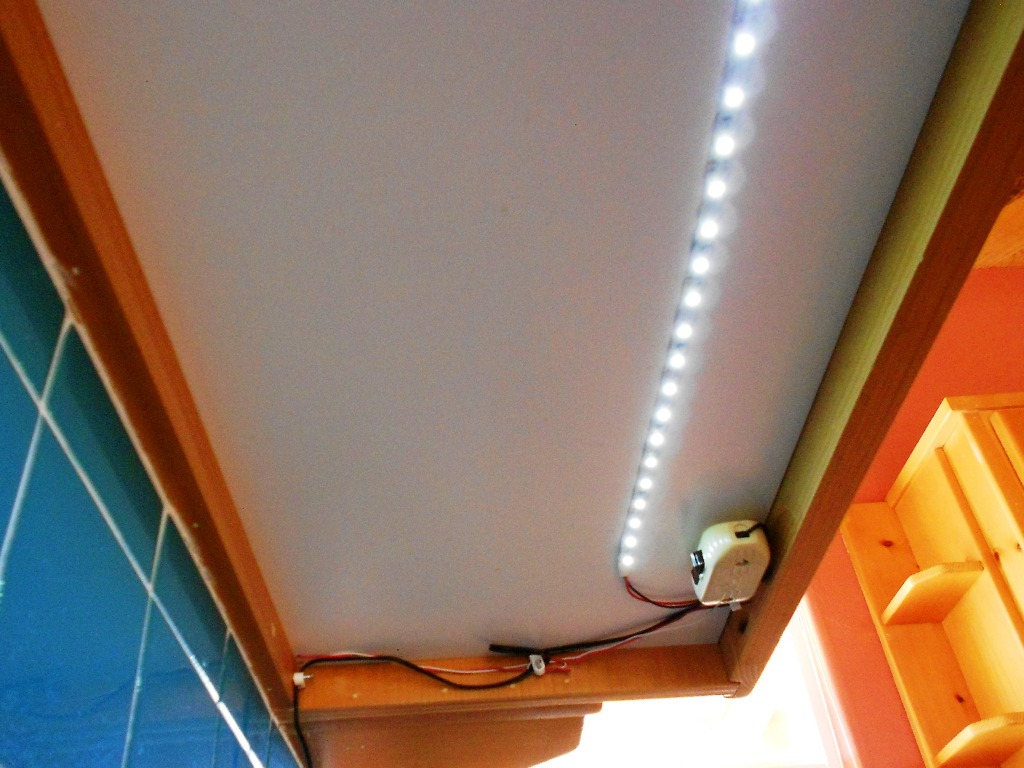 LED light strip cabinet switch