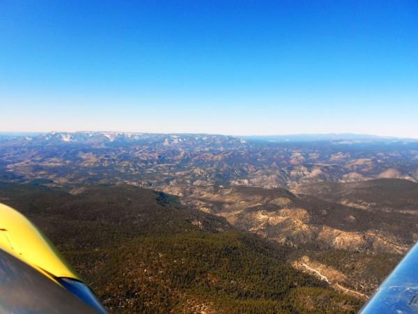 Arizona Camping Double Circle Grapevine Backcountry Airstrip aircraft