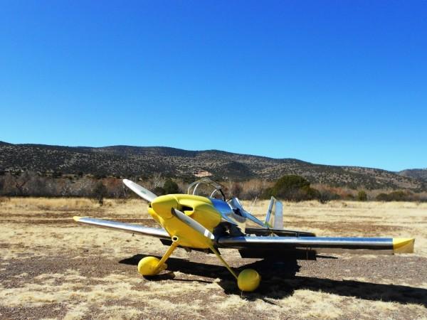 Arizona Camping Double Circle Backcountry Airstrip aircraft