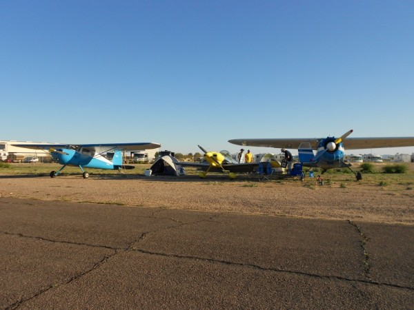 2013 Cactus Fly-In camping aircraft