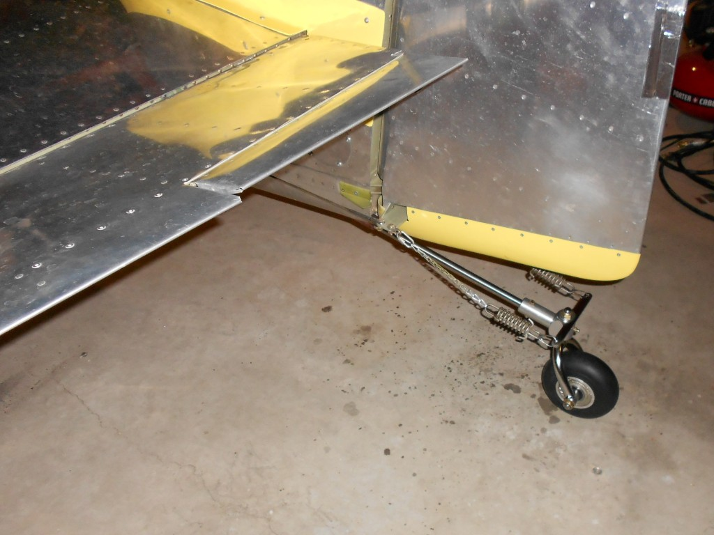 Tale of the Tail Wheel Replacement