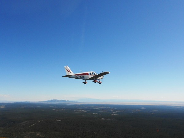 Piper Cherokee Aircraft Sandia Mountains