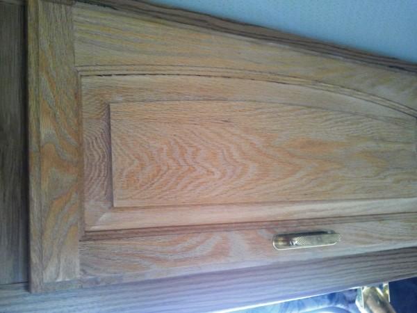 Cabinet Wood Finish Restoration
