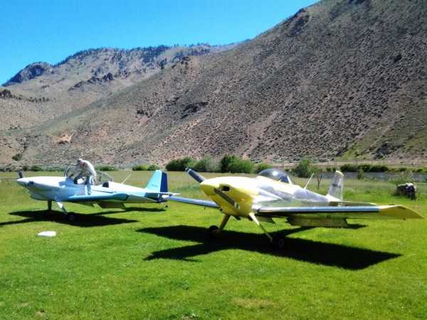Aircraft Aviation Flying B Ranch RV-3 Backcountry Airstrip
