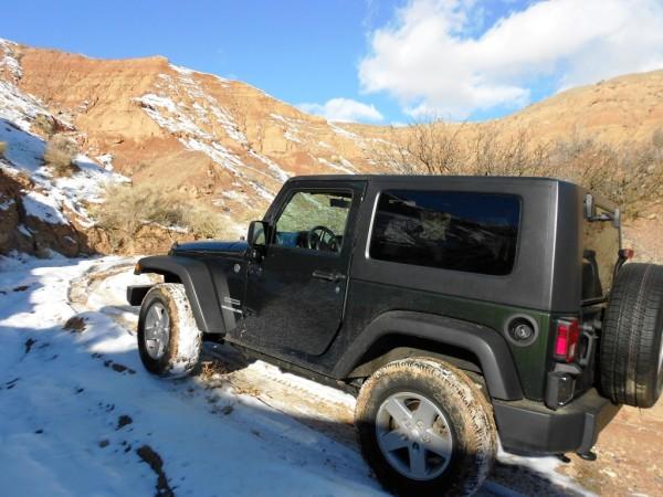 Jeep Wrangler JK 4x4 off-road