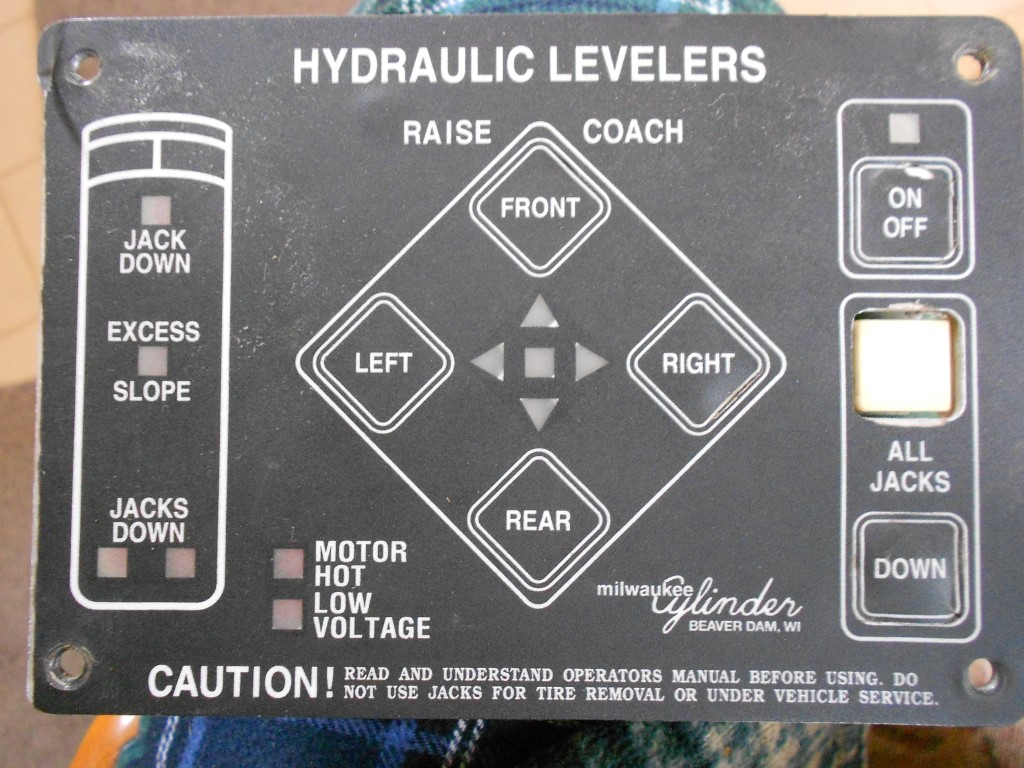 Rv Leveling Jacks Excursion Fleetwood Wiring Diagram For Electrical Powergear Hydraulic Leveler Jack Motorhome