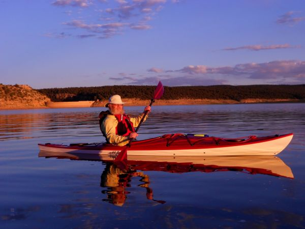 Necky Manitou Kayak Dark Full Moon Bluewater night
