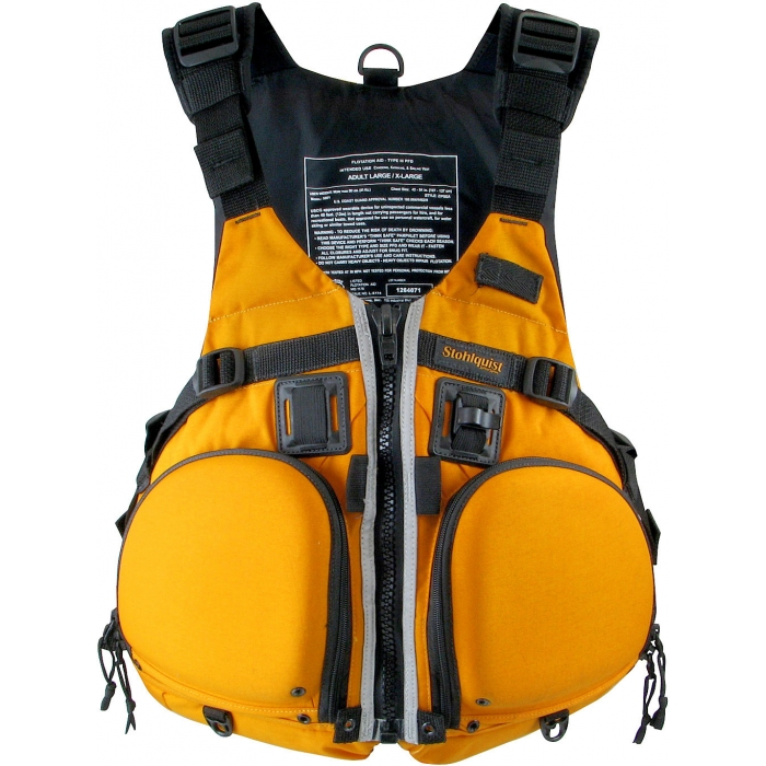 Review: Stohlquist Fisherman Kayak PFD