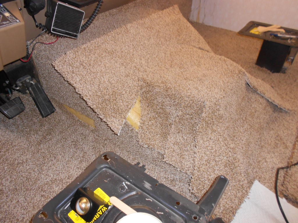 how to fix stiff carpet