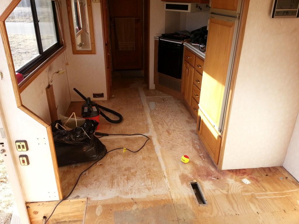 Replacing Carpet With Laminate Flooring In Rv