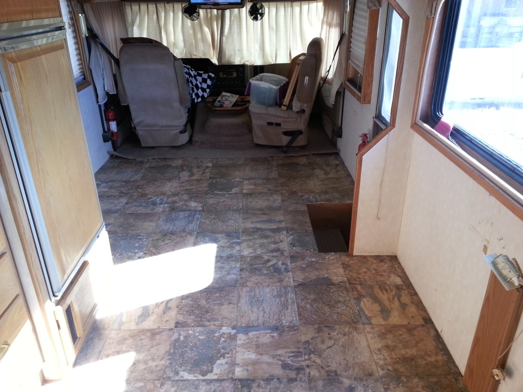 Replacing Carpet With Laminate Flooring In Rv