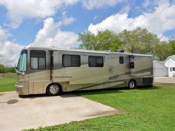 Newmar Dutch Star JBAM boondocking RV motorhome Minnesota diesel