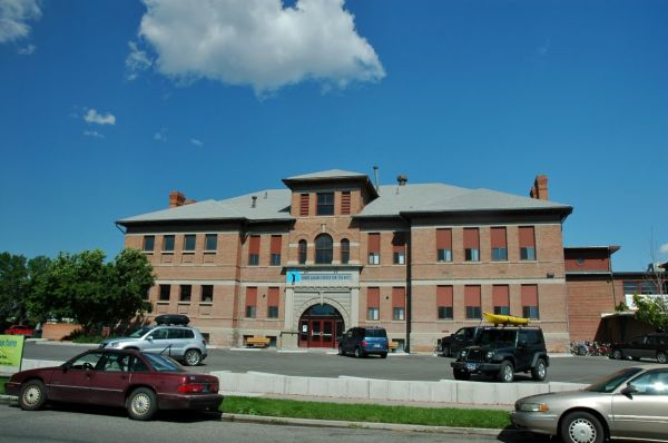 Livingston Montana Home Town Eastside Elementary School