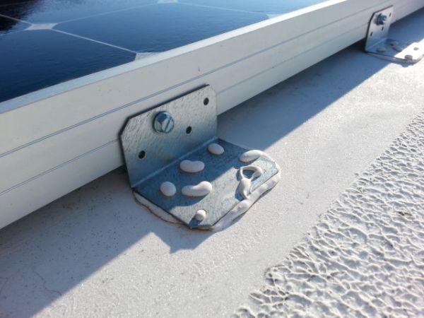 Solar Panel Mount 3M 5200 adhesive