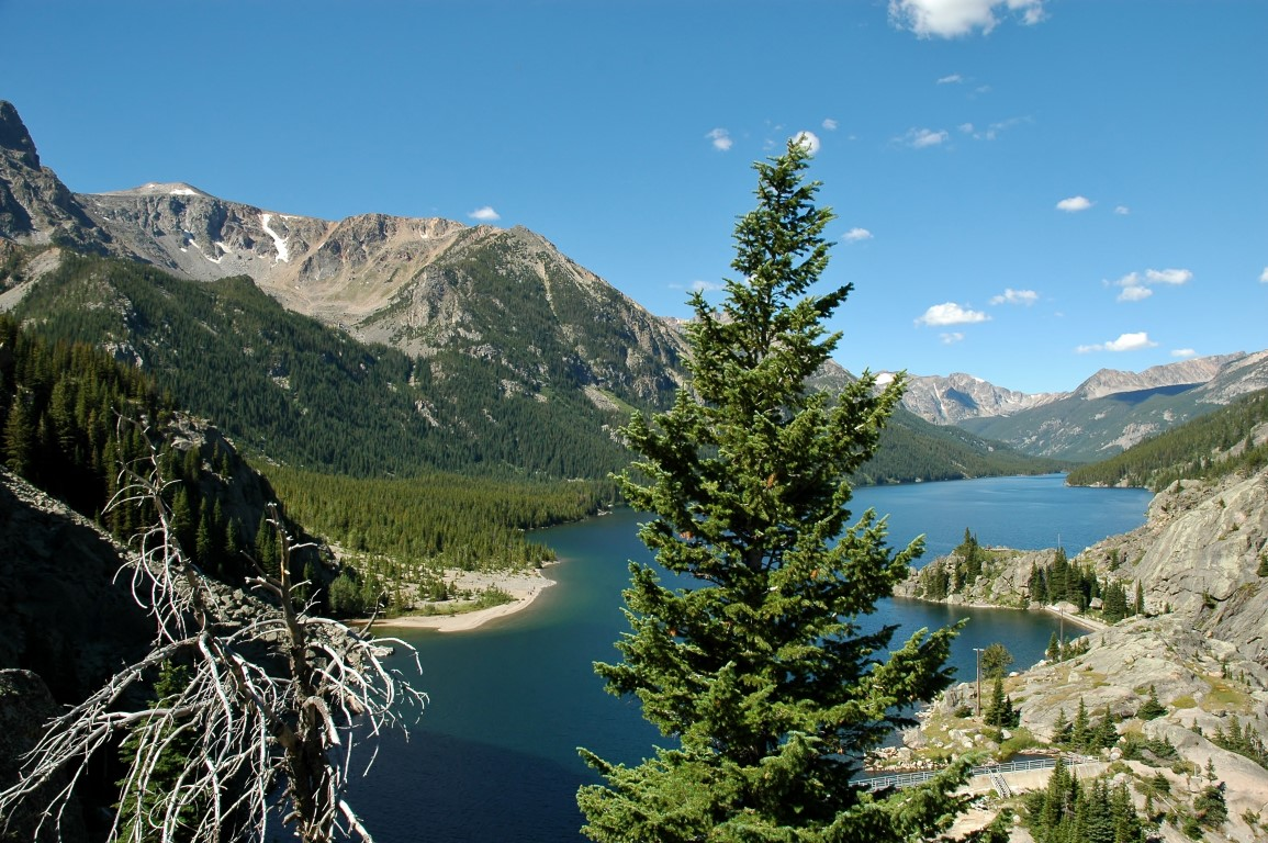 Mystic Lake Montana Newmar Dutch Star National Forest Service Camping