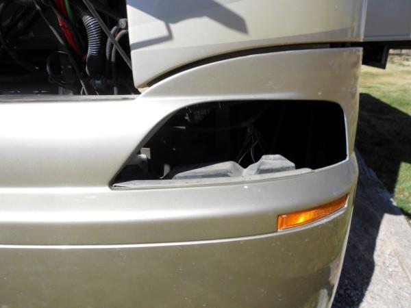 Newmar Dutch Star Headlight assembly replacement maintenance