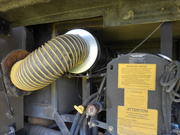 Newmar Dutch Star Cummins ISL diesel pusher air filter maintenance