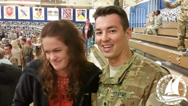 Army Deployment Return Family