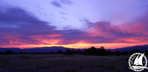 Colorado Mountains Sunrise