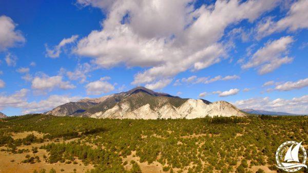 Newmar Dutch Star Camping Boondocking Gunnison National Forest solar