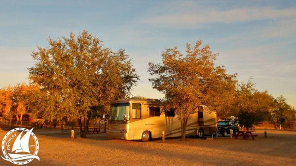 Cottonwood RV Park Bluff Utah Newmar Dutch Star