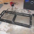 Missy 1998 MCI 102-EL3 holding tank platform water mount welding steel