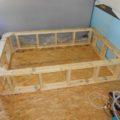 Missy 1998 MCI 102-EL3 coach bus conversion bed frame