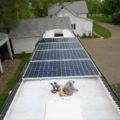 solar panel charging system photovoltaic RV Missy 1998 MCI 102-EL3 coach bus