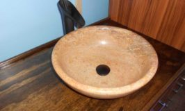 Bathroom Countertop and Neato Vessel Sink