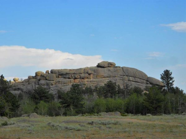 Vedauwoo Medicine Bow National Forest boondocking mountain bike