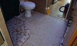 Bathroom Heated Tile Floor